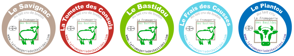 Etiquettes des fromages