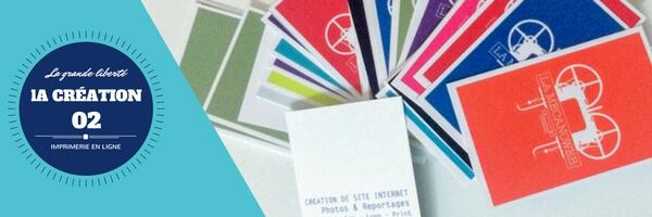 Imprimerie en ligne - la création