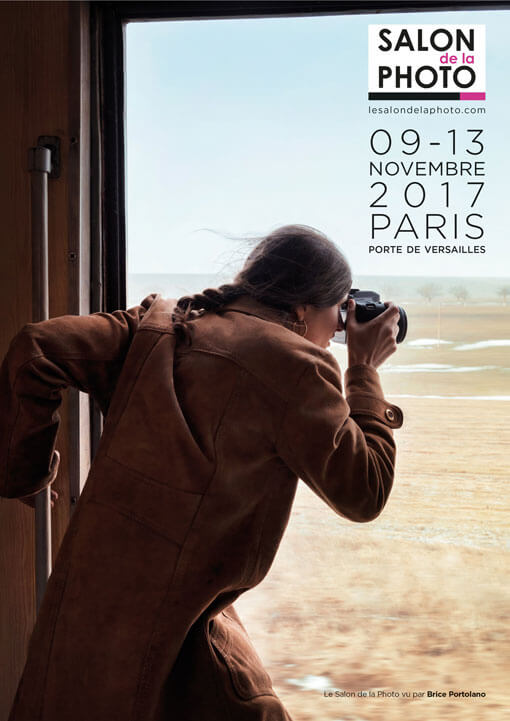 Affiche du salon de la photo 2017 - Photo de Brice Portolano