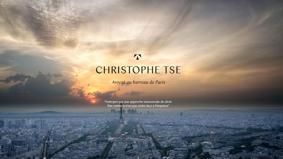 Christophe TSE – Avocat au barreau de Paris