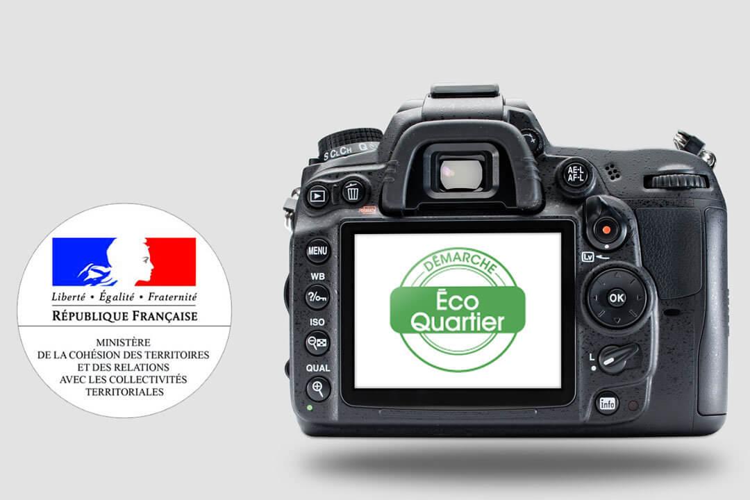Reportages photographiques dans 17 EcoQuartiers en France métropolitaine