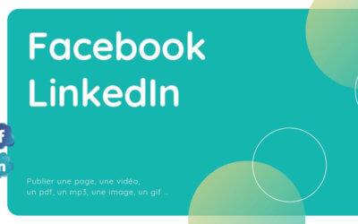 Comment publier correctement sur Facebook et LinkedIn en 5 étapes ?